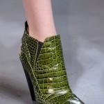 Botine piele de crocodil Derek Lam 2013